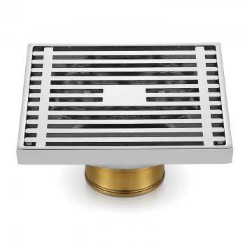 精铜快速排水防虫防臭浴室铜地漏